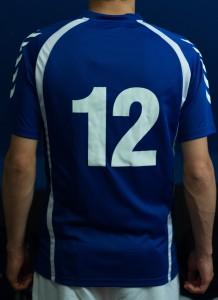 Kadima-shirt rugnummer