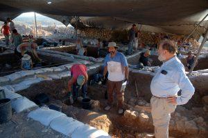 Opgravingen in Khirbet Qeiyafa, Saäraïm Opgravingen in Khirbet Qeiyafa. Foto: Alfred Muller