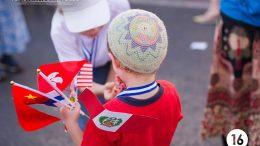 Pro-Israël christenen deelden van alles uit aan Joodse kinderen. Beeld: ICEJ