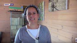 Shira Lavie uit de nederzetting Har Bracha. Beeld: IsraelCNN
