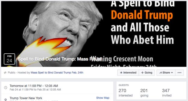 Amalek altijd actueel: heksenjacht Trump