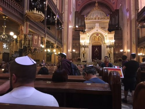 Prachtig interieur van de Grote Synagoge Boedapest