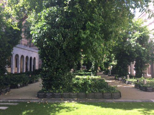 Tuin der Rechtvaardigen Grote Synagoge Boedapest